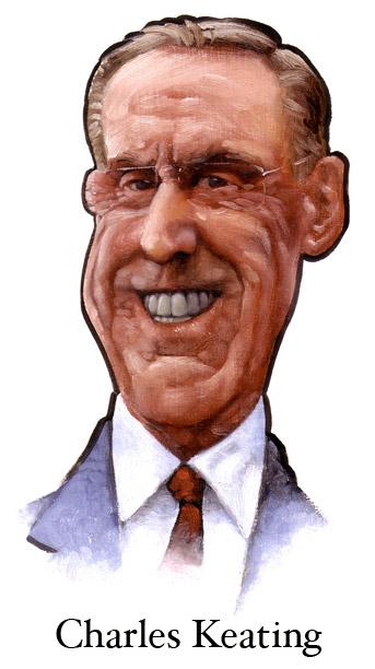 Charles Keating: Born: Dec 04, 1923 - Died: Mar 31, 2014