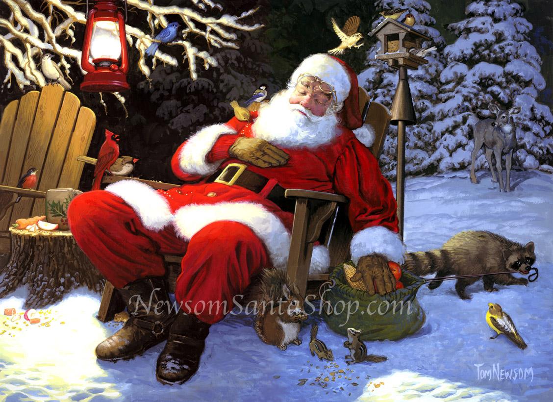 Дремлющий Санта